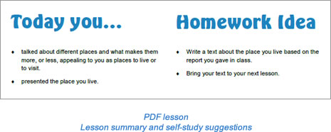 Task lesson Task page